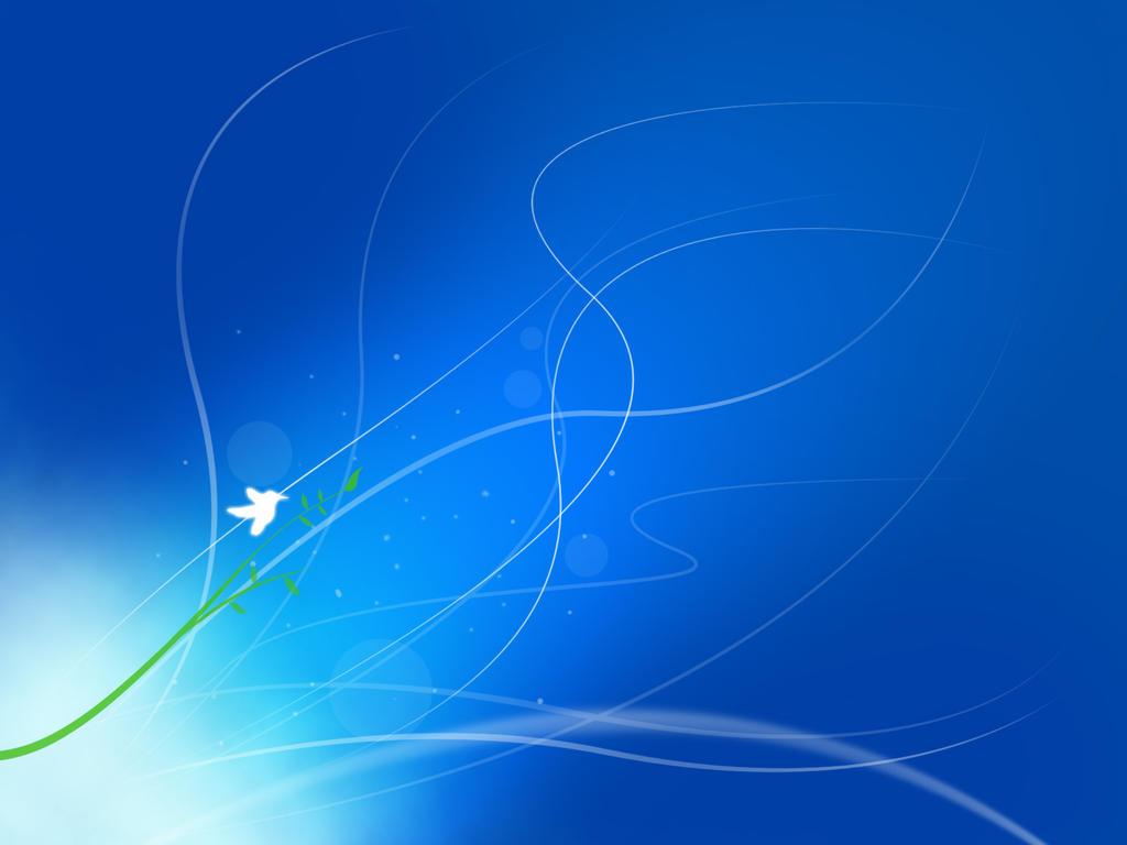 Windows 7 Default Wallpaper 1024x768