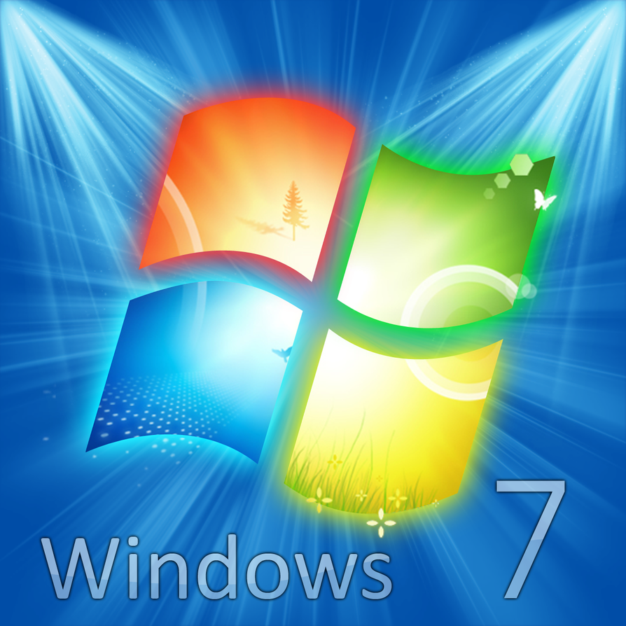 Windows 7 Gigantic Logo by atty12