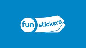 Fun Stickers Logo Presentation