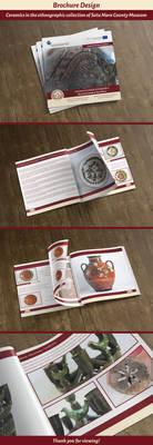 Ceramics collection - Brochure Design