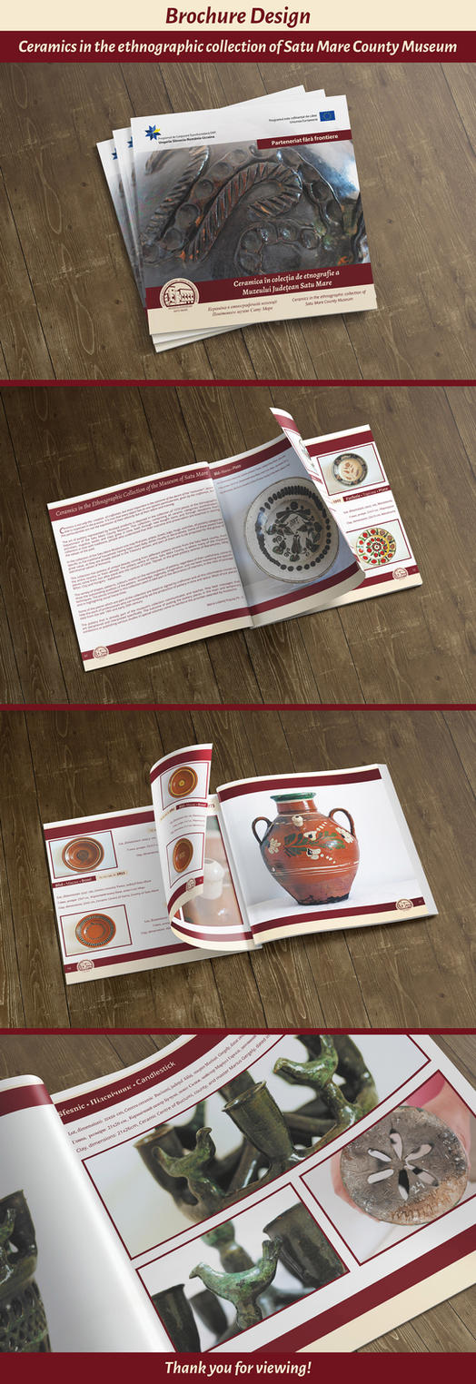 Ceramics collection - Brochure Design by atty12