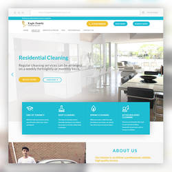 WordPress Website Design - House Cleaning Services