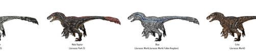 Jurassic Park Realistic- Velociraptors by Gun345