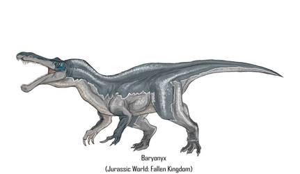 Jurassic Park Realistic- Baryonyx by Gun345