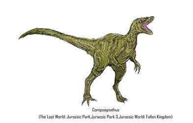Jurassic Park Realistic- Compsognathus by Gun345