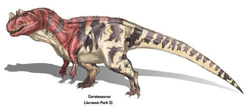 Jurassic Park Realistic- Ceratosaurus by Gun345