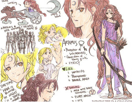 MYth Artemis Character Sheet