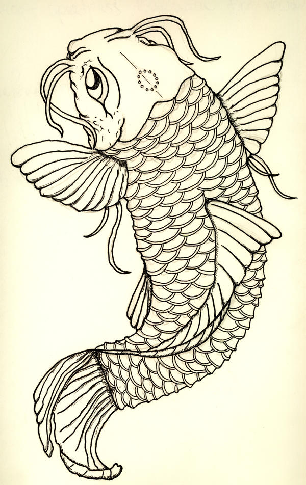 Japanese Koi Fish Tattoo Designs Gallery 14