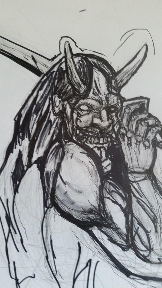 comic  work  sketch