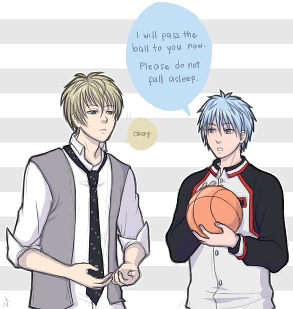 Ren and Kuroko by nranola
