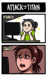 Attack on Titan: Before and After