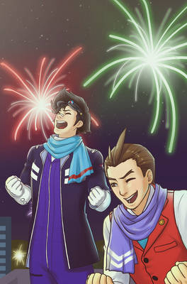AA: IT'S NEW YEARS AND WE'RE FIIIINE!!!
