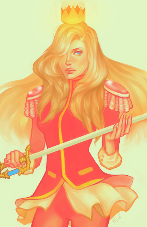 Revolutionary Girl Utena by csswolfe