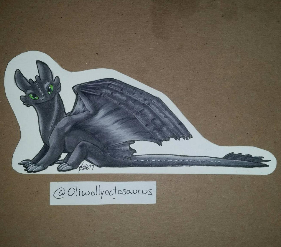 Tiny Toothless  by DannyP514