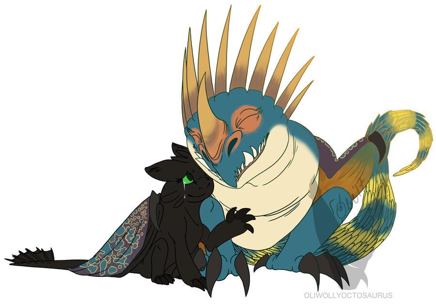 Mama Stormfly by Oliwollyoctosaurus