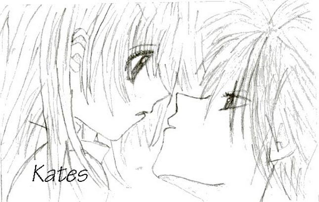 Anime Kiss By KatesShirai On