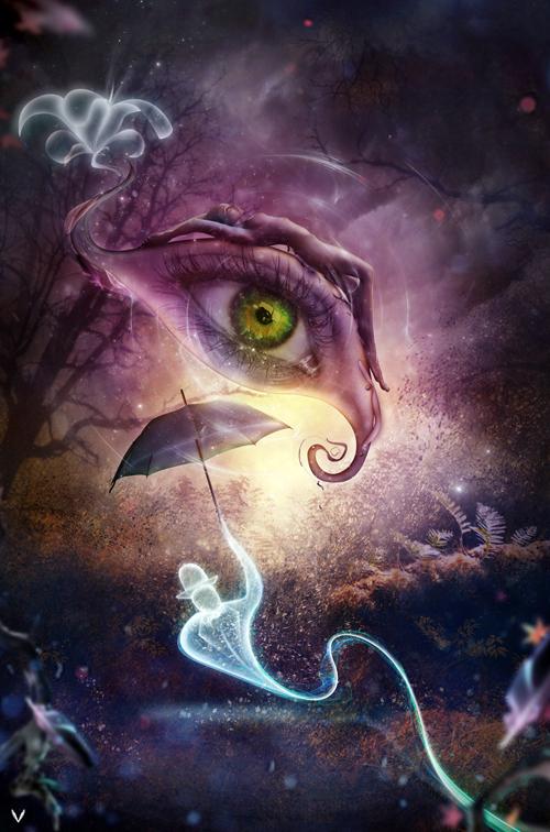Eye of Infinity by ianvicknair