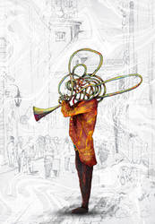 Classical Trumpet by ianvicknair