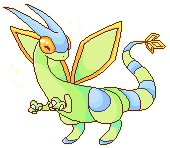 shiny flygon by ninjarune