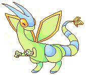 shiny flygon by ninjarune