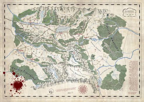 Barovia - mapa polska
