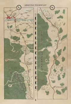 Arkusz I Atlasu Drog Faerunu