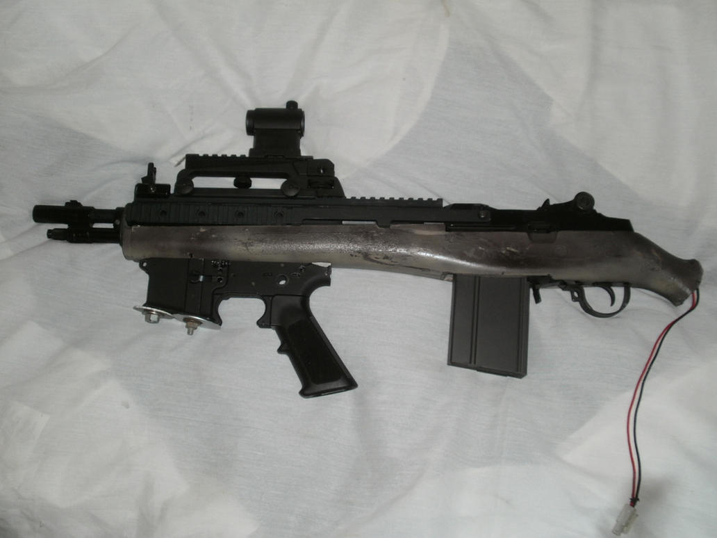Bullpup M14 WIP without Stock by WolvenOps on DeviantArt M14 Bullpup