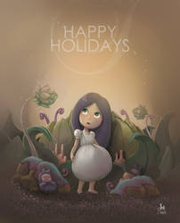 Happy Holidays by clementmeriguet