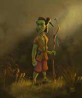 Atreyu from Neverending Story