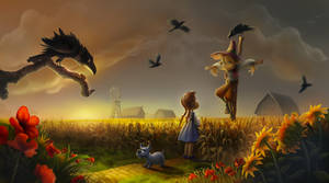 Oz : Dorothy and the Scarecrow