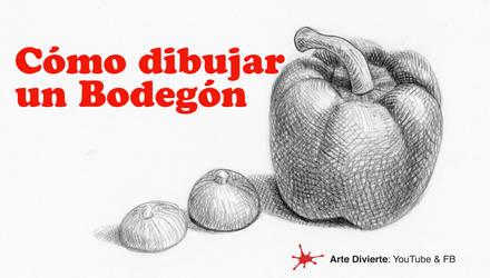 Como dibujar un bodegon - Naturaleza muerta by LeonardoPereznieto