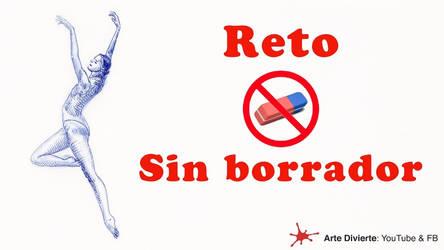 Reto: Dibujar una bailarina sin usar el borrador by LeonardoPereznieto