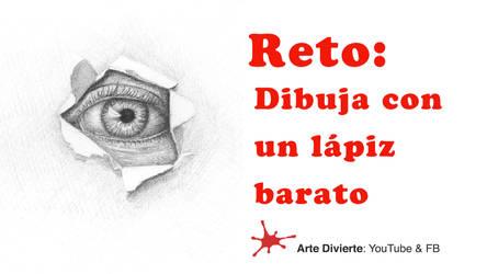 Reto: Dibuja con un lapiz barato - Ojo by LeonardoPereznieto