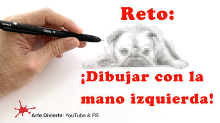 Reto: Dibujar con la mano izquierda! (un Bulldog) by LeonardoPereznieto