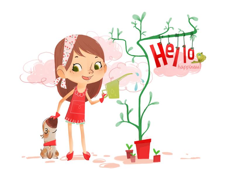 Hello Happiness by tshipbd on DeviantArt