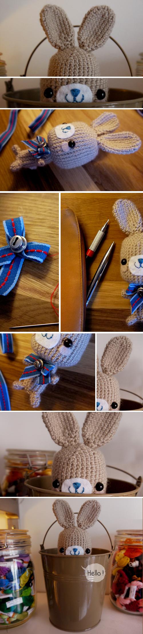 Cute little animal crocheted