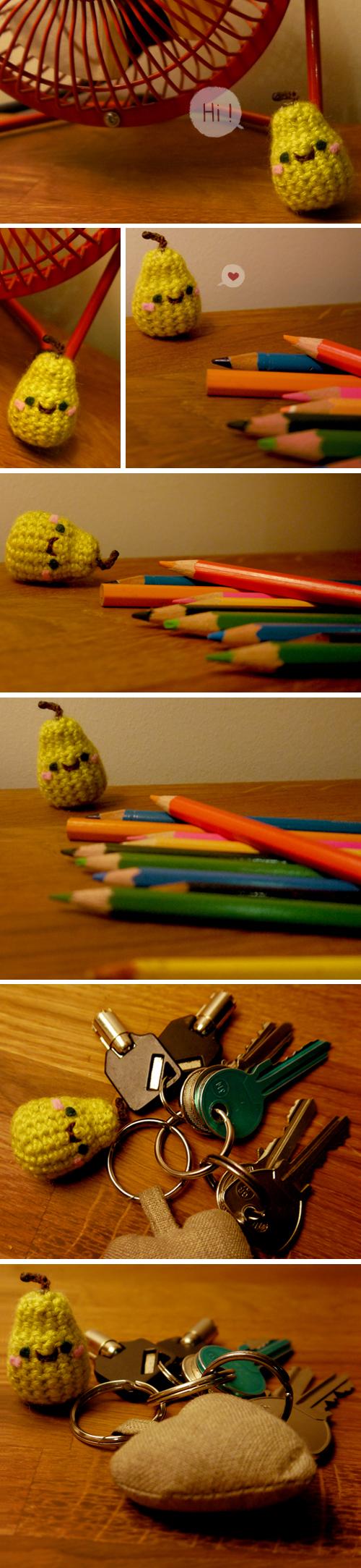 Lovely tiny pear