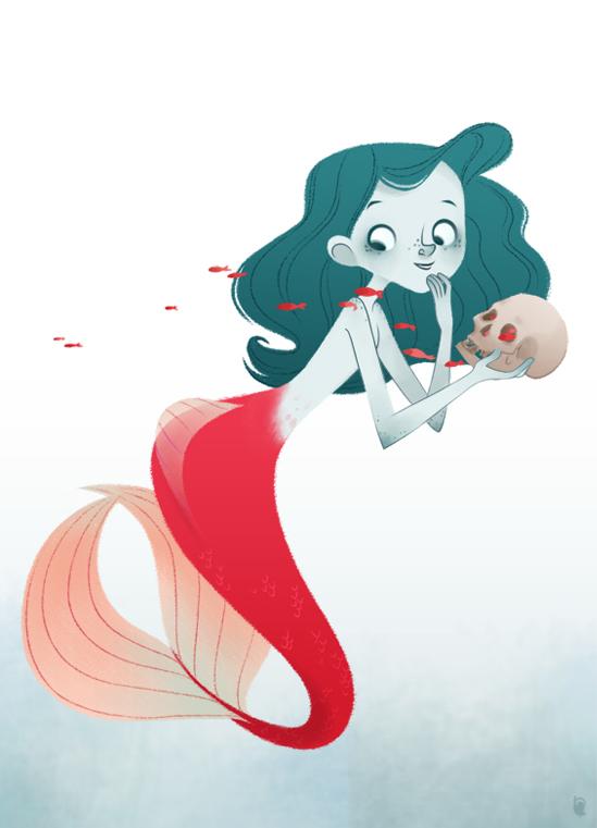Evil Mermaid by tshipbd