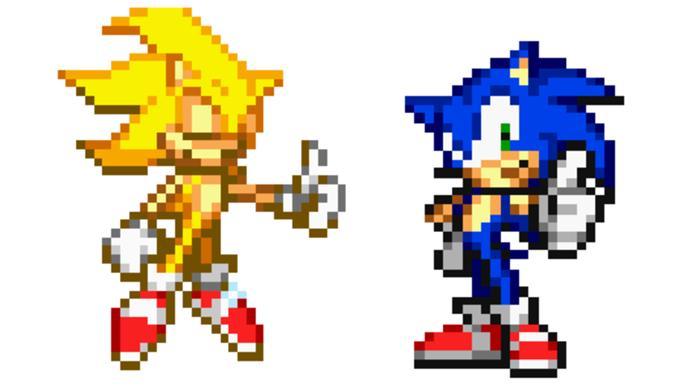 Sonic Ring Sprite