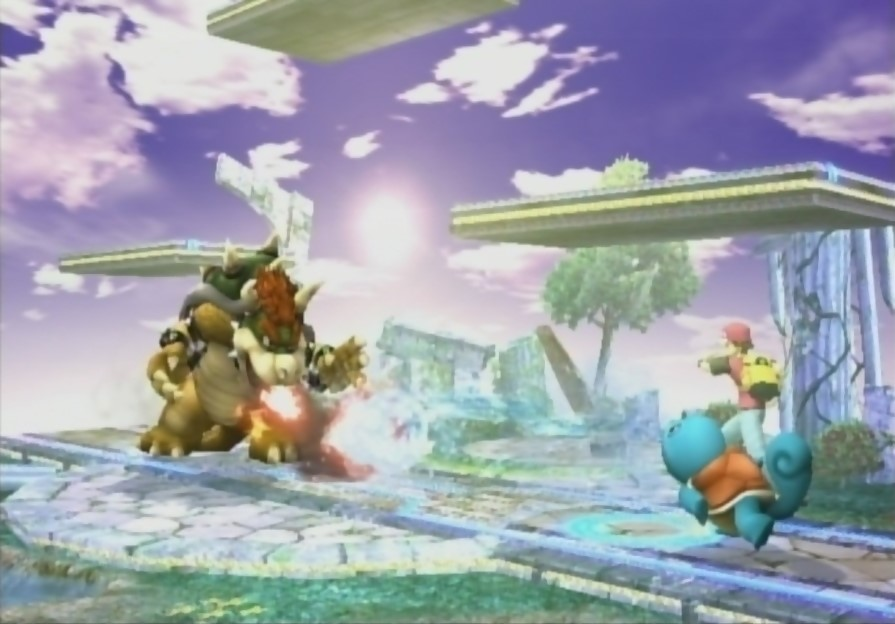Super Smash Bros. Brawl Screenshot - Fire vs Water by quincyjazimar13
