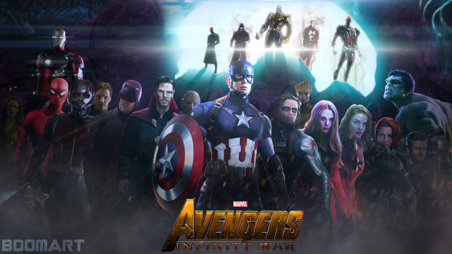Avengers Infinity War Wallpaper By Boomart16 On Deviantart