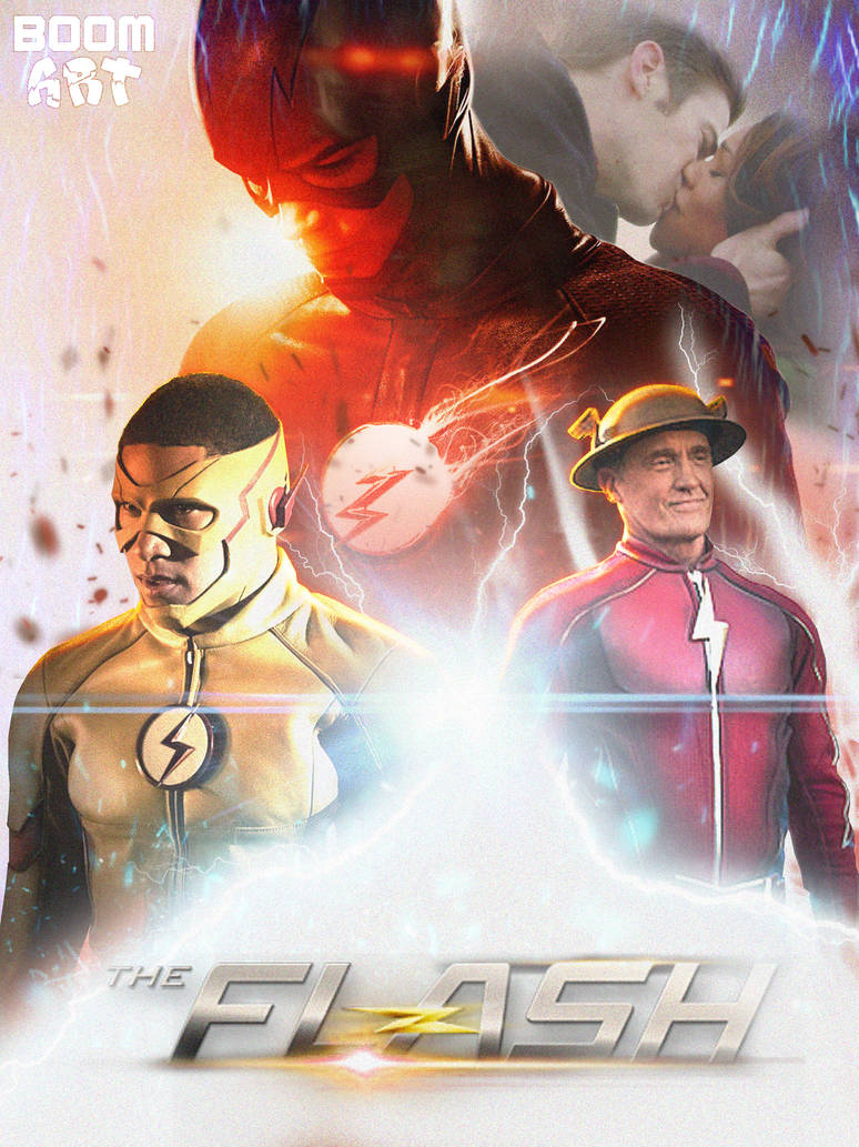 The Flash Season 3 poster 2 by BoomArt16 on DeviantArt