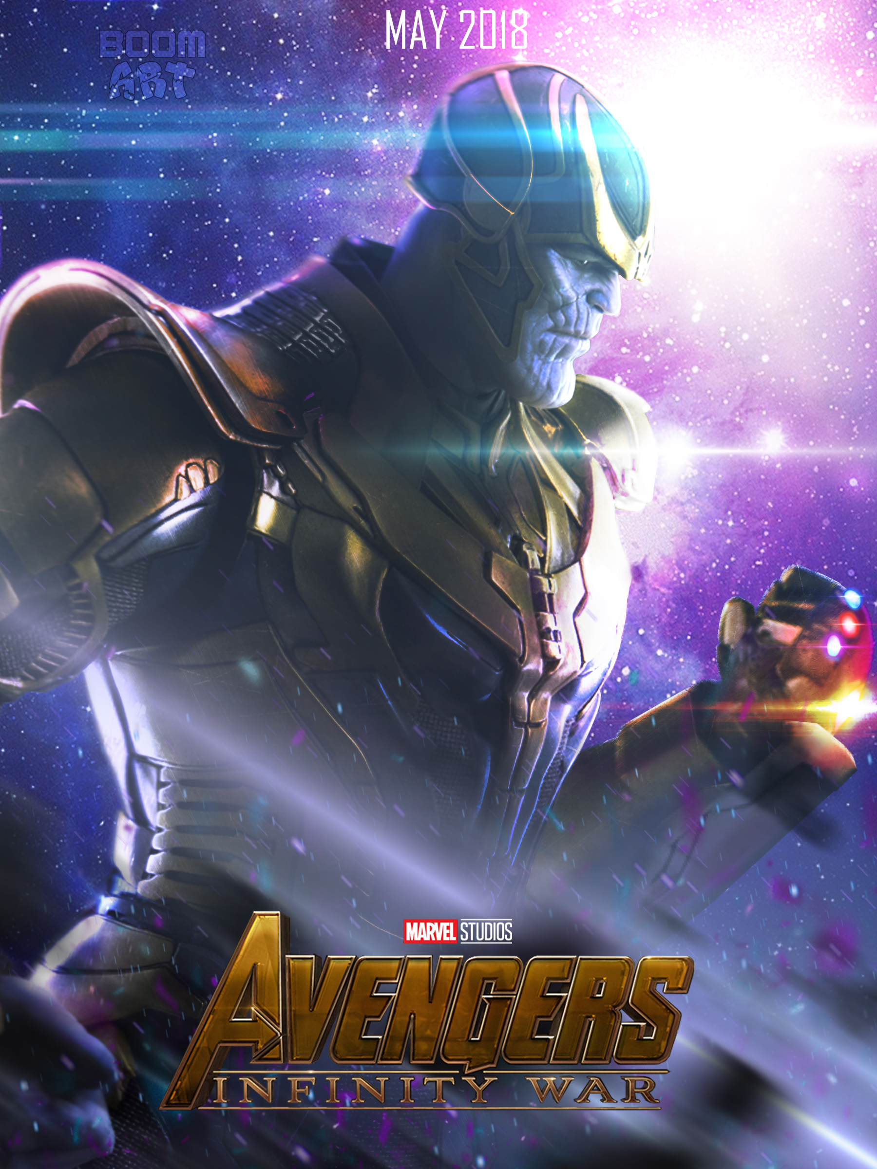 Avengers: Infinity War THANOS poster 3 by BoomArt16 on ...