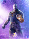 Thanos's Textless Entertainment Weekly Cover