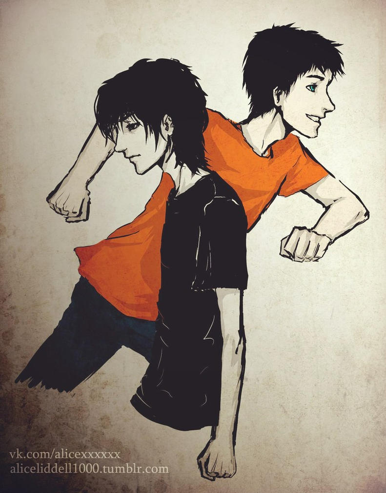 Nico di Angelo and Percy Jackson by AliceLiddell1000 on ...