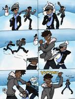 Fun with snow by JoJoJonas01