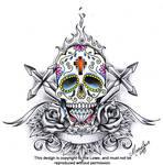 Sugar Skull Crest
