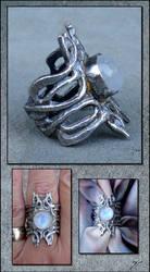 Zaphiria - Ring by Ellygator