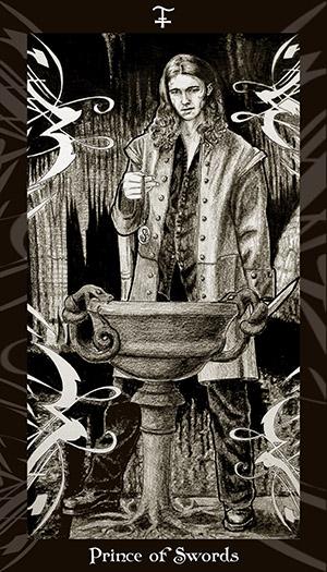HP Tarot - Prince of Swords