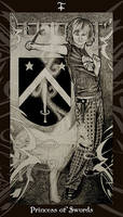 HP Tarot - Princess of Swords